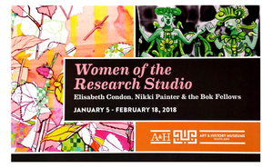 """""""Women of the Research Studio: Past and Present"""" at Maitland Arts and History Museum"""