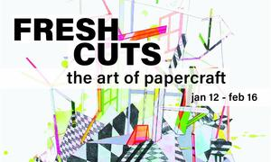 """Fresh Cuts: The Art of Papercraft"" at Crooked Tree Arts Center"